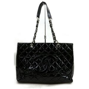 Chanel Patent GST Grand Shopping Tote 871826